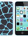 Elonbo Leopard Print Design Estilo Hard Case Voltar para o iPhone 5C