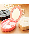 European Vintage Style Portable Containers for Contact Lenses(Random Color)