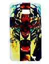 Roaring Tiger Pattern TPU Soft Case for Samsung S2 I9100