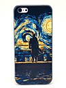 Oil Printing Man and Sun Pattern Hard Case for iPhone 5C