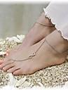 Ножной браслет Украшения на ноги - бесконечность Серебряный / Бронзовый / Золотой Назначение Повседневные / Жен.