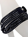 Five Rows Black Diamond Bracelet Twice
