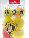 6 PCS Beauty Curly Hair Sponge Hair Device Random Color