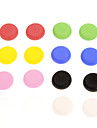 16pcs Colorful tampa de silicone antiderrapante PS4 Controlador