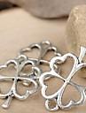 eruner®24 * alliage de 17mm trèfle à quatre feuilles charmes pendentifs bijoux bricolage (10pcs)