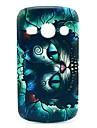 Hard Case Rétro chat de bande dessinée Motif pour Samsung Galaxy renommée S6810/S6818