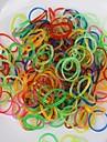 baoguang®600pcs couleur arc paillettes métier à tisser gelée mode bande de caoutchouc (1pcs crochet, crochet 24pcs)