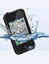 o novo shell impermeável especial para 4/4s iphone (cores sortidas)