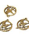 Bijoux bricolage pcs Bijoux Outils et équipement Forme de Cercle Alliage Perle 2 cm DIY Bracelet Colliers Tendance