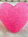 Coway poudre de cristal d\'amour colore de nuit de LED de decoration de mariage de lampe de lumiere automatique