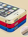 Metal Frame Bumper Case for iPhone 4/4S (Assorted Colors)