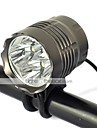 新款4T6 Bike Light 3500 lm with Charger Impact Resistant / Rechargeable / Strike Bezel Camping / Hiking / Caving / Cycling / Bike / Hunting