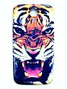 teste padrão animal do tigre fina cobertura caso difícil para i9500 samsung galaxy s4