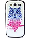 Double Color Owl Pattern Hard Case for Samsung Galaxy S3 I9300