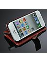 прочный случай для IPhone 5 / 5S, благородный кожаный чехол ПУ для iPhone 5 5s, кожаной случай для IPhone 5 с, мобильный телефон случае