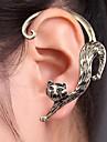 vintage bronze gato lindo ear cuff (1pcs)