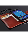 Fashion® Super Thin Flip PU Leather Case with Card Slot for Samsung S4 Mini
