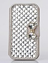 Fashion Crystal Diamond Leather Camellia Full Body Case with Stand for SAMSUNG GALAXY S3 I9300