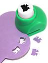 sacador herramienta de corte bricolaje patrón bowknot metal mini (color al azar)