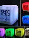1pc Night Light LED Schermo display Batteria Impermeabile