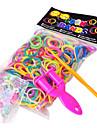 baoguang®600pcs цвета радуги ткацкий станок моды ткацкий станок резинкой (1шт рогатки, клип 1package с, разные цвета))