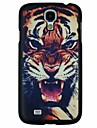 Roaring Tiger Pattern PC Hard Back Cover Case for Samsung S4 I9500