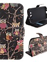 The Owl Design PU Leather Full Body Protective Case with Stand for Samsung Galaxy S3 I9300