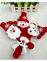 Presentes de Natal Brinquedos de Natal Pulseira Bate Enrola Brinquedos Boneco de neve Fofinho Papai Noel Textil Criancas 1 Pecas