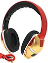 Hi-Fi Iron Man 3.5mm TF Card Slot Foldable Bass Music Stereo Wireless Bluetooth Headphone with Mic TF FM AUX