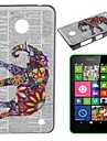 Color the Elephant Pattern PC Hard Case for Nokia Lumia N630