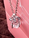 Necklace Pendant Necklaces Jewelry Wedding / Party / Daily / Casual Fashion Alloy Silver 1pc Gift