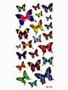 Waterproof Lovely Butterfly Temporary Tattoo Sticker Tattoos Sample Mold for Body Art(18.5cm*8.5cm)