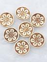 patron de flores del libro de recuerdos Scraft coser botones de concha de coco bricolaje (10 piezas)