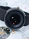 Мужской Спортивные часы Секундомер Защита от влаги Кварцевый Японский кварц силиконовый Группа Черный