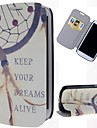 Keep Dream Catcher Pattern PU Leather Full Body Case with Stand and Card Slot for Samsung Galaxy S3 I9300