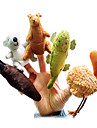 Jouets Marionnette de Doigt Animal Dessin Anime Loisirs Pour Garcons Pour Filles Tissu