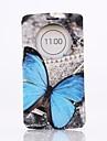 Pour Coque LG Avec Support Avec Ouverture Clapet Coque Coque Intégrale Coque Papillon Dur Cuir PU pour LG LG G3