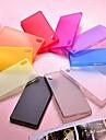 소니 엑스 페리아 Z2에 대한 순수한 컬러 초박막 PC 케이스 (모듬 색상)
