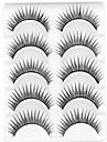 Ögonfrans Lösögonfransar 10 pcs Volym Naturlig Lockigt Fiber Dagligen Naturligt långa - Smink Vardagsmakeup Kosmetisk Skötselprodukter