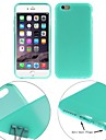 ENKAY Protective TPU Soft Case with Anti-dust Plugs for iPhone 6/6S  (Assorted Colors)
