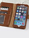 Stylish Style Protective PU Leather Case Card Slot for iPhone 6 Plus
