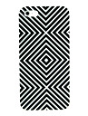 Black & White Abstract Pattern Hard Case for iPhone 4/4S
