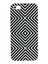 черный&белый абстрактный узор жесткий футляр для iPhone 4/4S