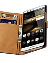 Genuine Leather Case with Card Slots for Huawei Ascend Mate 7