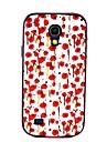 Pour Samsung Galaxy Coque Antichoc Motif Coque Coque Arrière Coque Fleur Polycarbonate pour Samsung S4 Mini