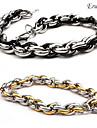 Eruner®Black Titanium Steel Chain Bracelet(Assorted Color)
