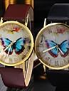 женская старинные бабочка ремень круглый ремень движение Китай часы (разных цветов)