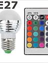 Ampoules Globe RGB E26/E27 3 W SMD 2835 300-500 LM AC 85-265 V
