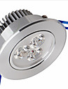 500-550 lm Plafonniers Lampes Panneau Encastree Moderne 6 diodes electroluminescentes SMD 2835 Intensite Reglable Blanc Froid AC 220-240V