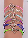 eruner®zircon padrão colorido âncora pulseira (cores sortidas)